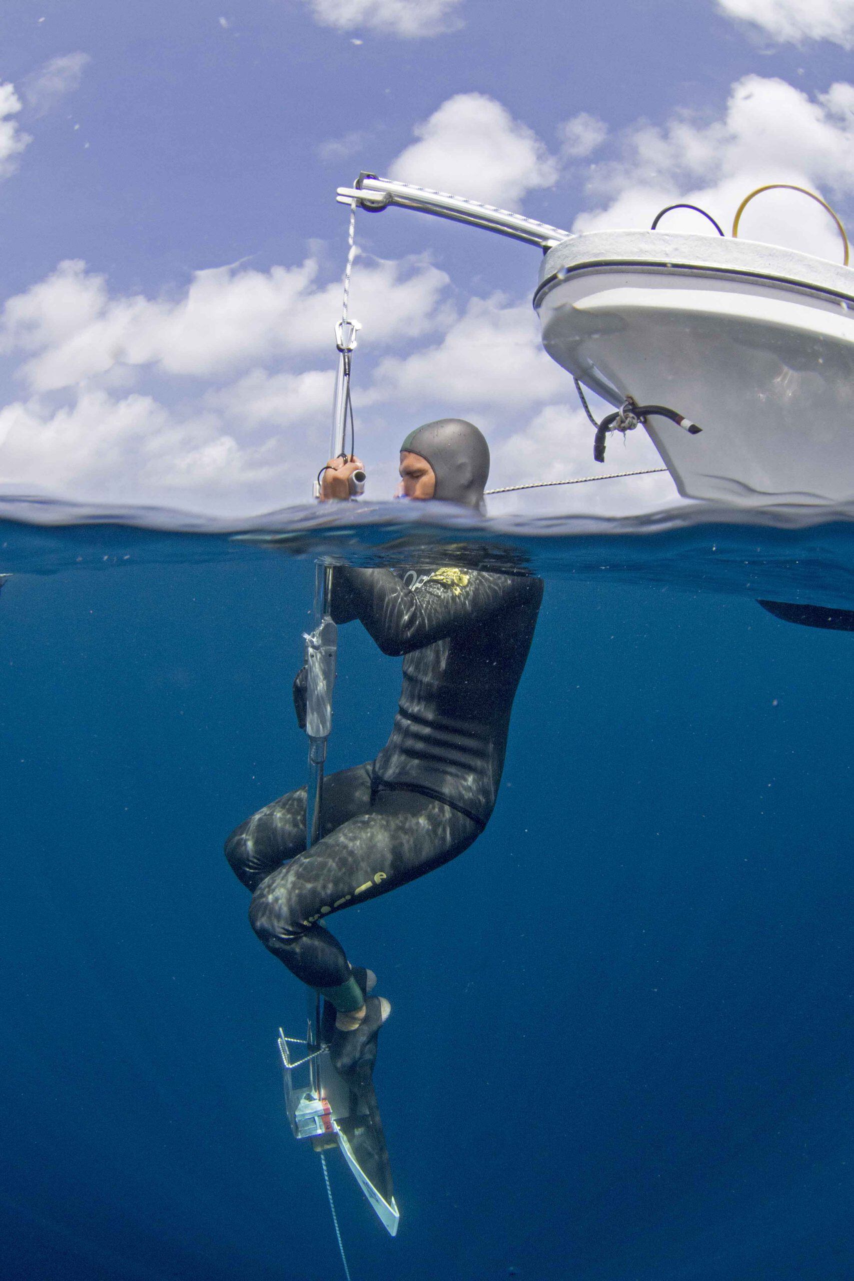Freediving Bonaire Nature2experience, Carlos Coste, freediving Bonaire