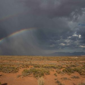 Moab, Canyonlands, Arches, rainbow