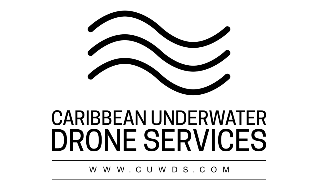 Underwaterdrone services and inspections in the Caribbean